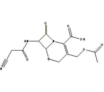 Molekülbild Cefacetril