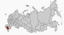 Lage der Region Stawropol